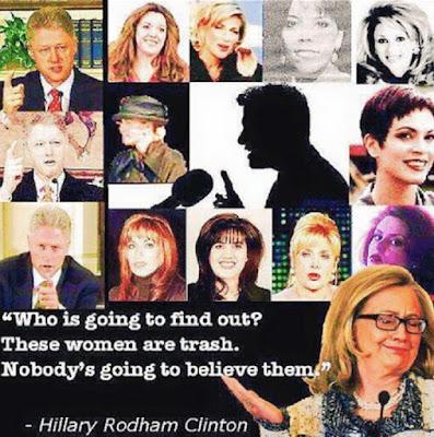 Resultado de imagen para bill Clinton victims