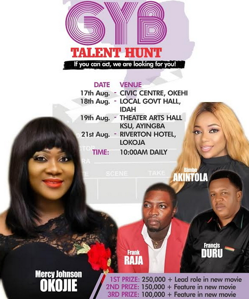 mercy johnson acting auditions