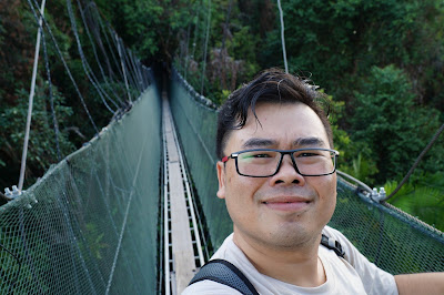Canopy walk Batang Ai