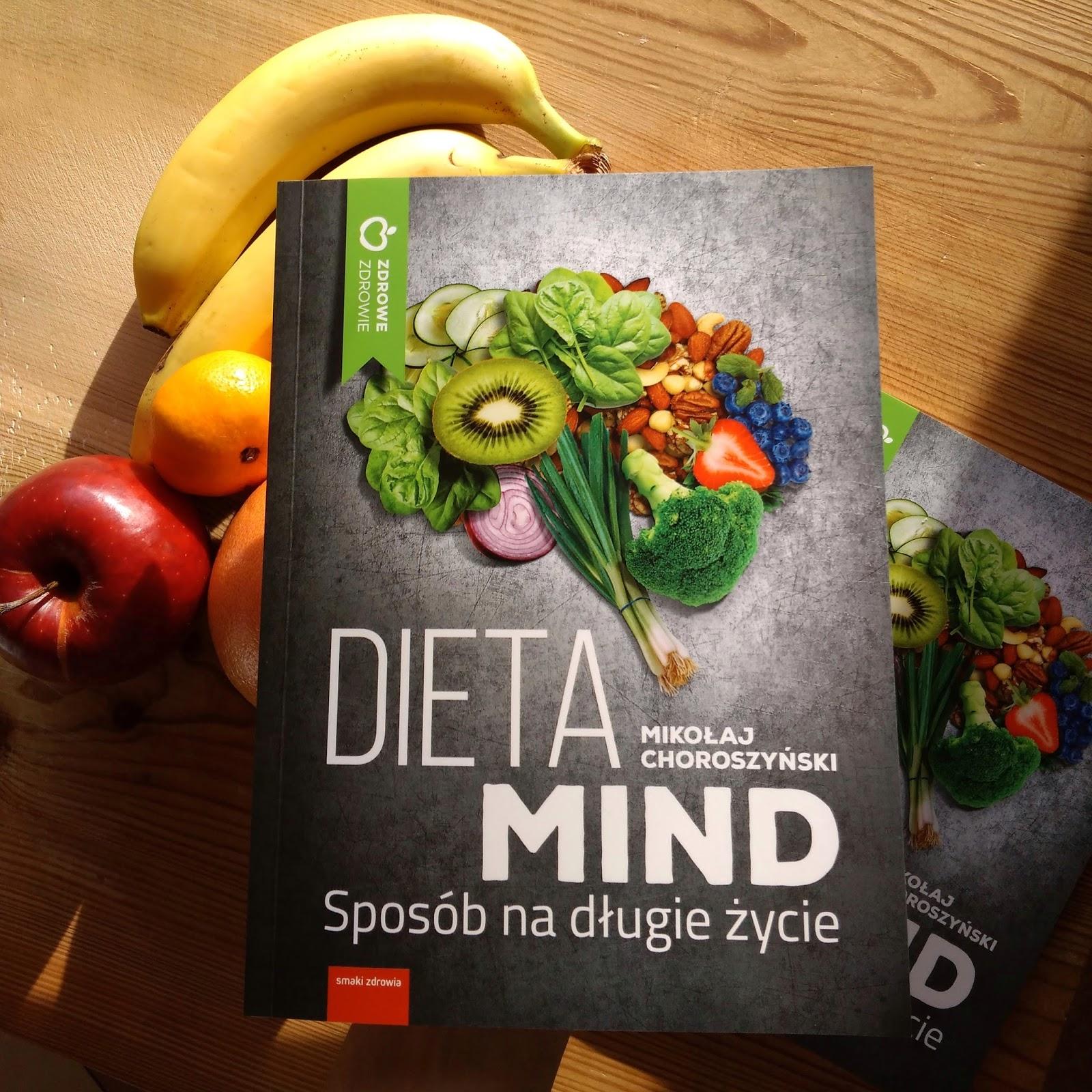 Dieta Mind książka dietetyk Mikołaj Choroszyński