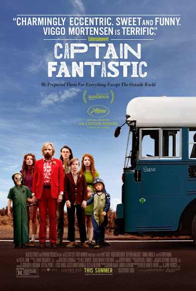 Poster of Captain Fantastic 2016 720p English BRRip Full Movie Download