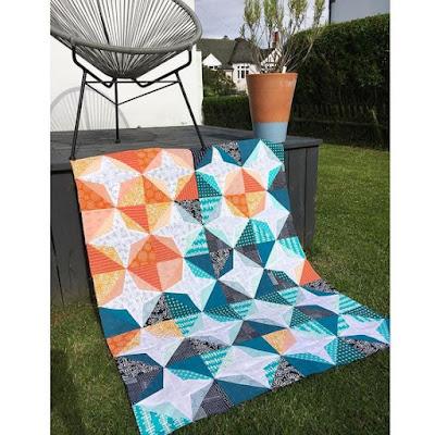 Rainbow Quilt Karen Lewis Textiles