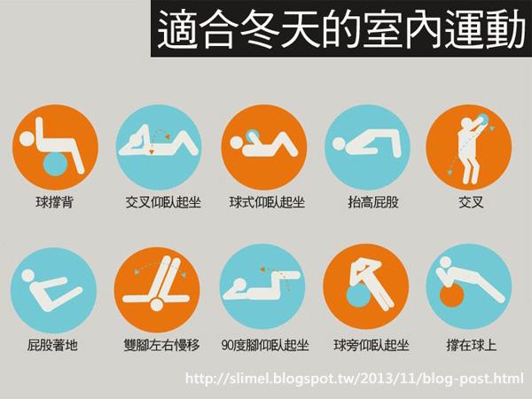最佳減肥運動~室內運動