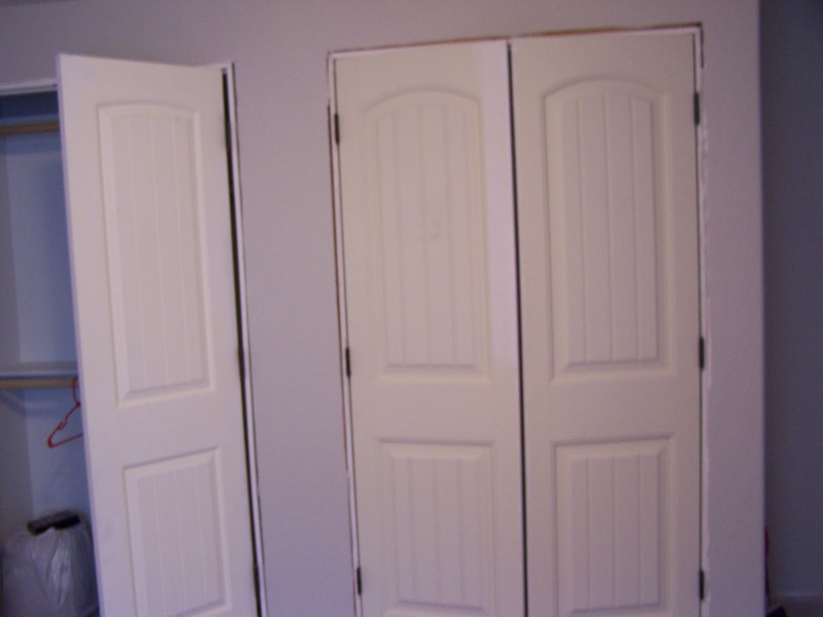 Remodelaholic Giving Your Closet Doors Some Character