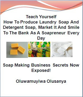 make money distributing soap business in nigeria without even sweet.