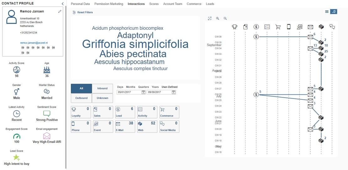 SAP Customer Experience How to use customer profiling to create - customer profile