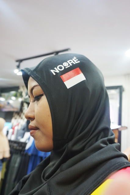 ciput noore, hijab for champion