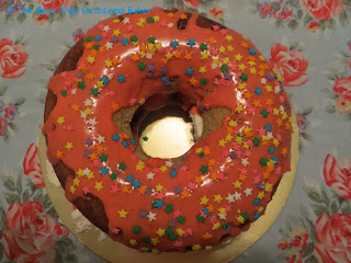 XL Doughnut Birthday Cake