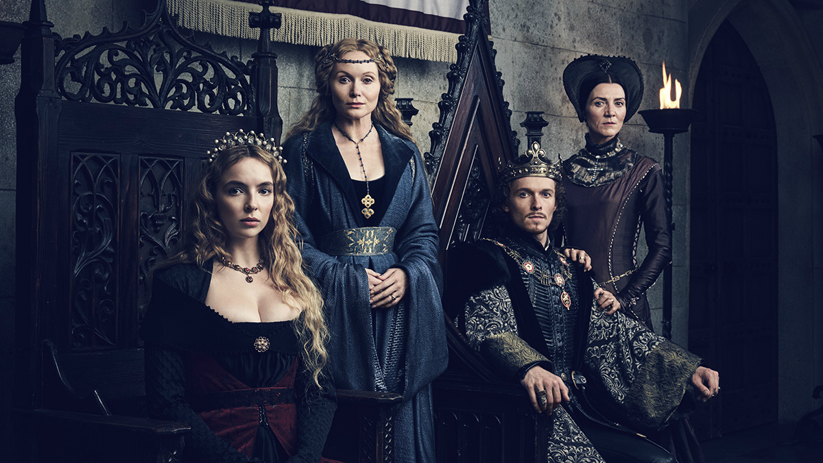 Key Art for The White Princess on Starz featuring the main characters