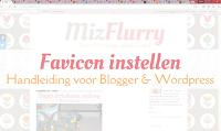 Favicon instellen - Handleiding voor Blogger en Wordpress