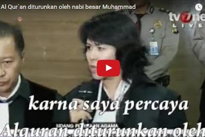 Konyol! Pengacara Ahok Sebut Al-Qur'an Diturunkan Nabi Muhammad [Video]