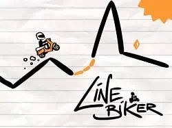 Kağıt Bisikletçi - Line Biker