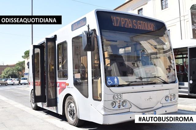 #AutobusDiRoma - Tecnobus Gulliver: I 60 minibus elettrici della Capitale