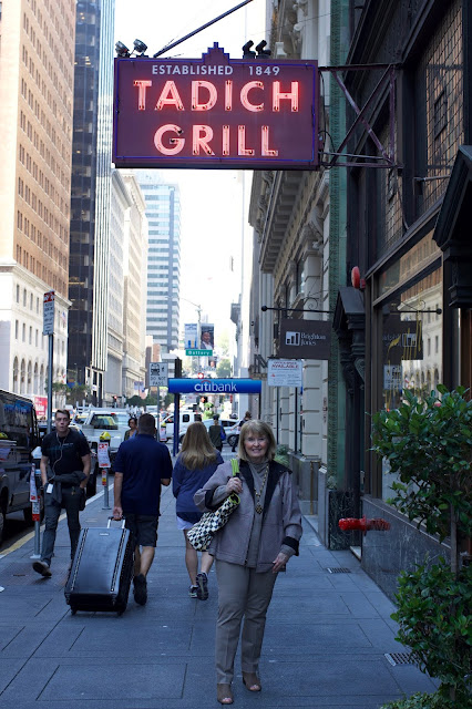 Image result for Sexy woman at Tadich Grill, SF
