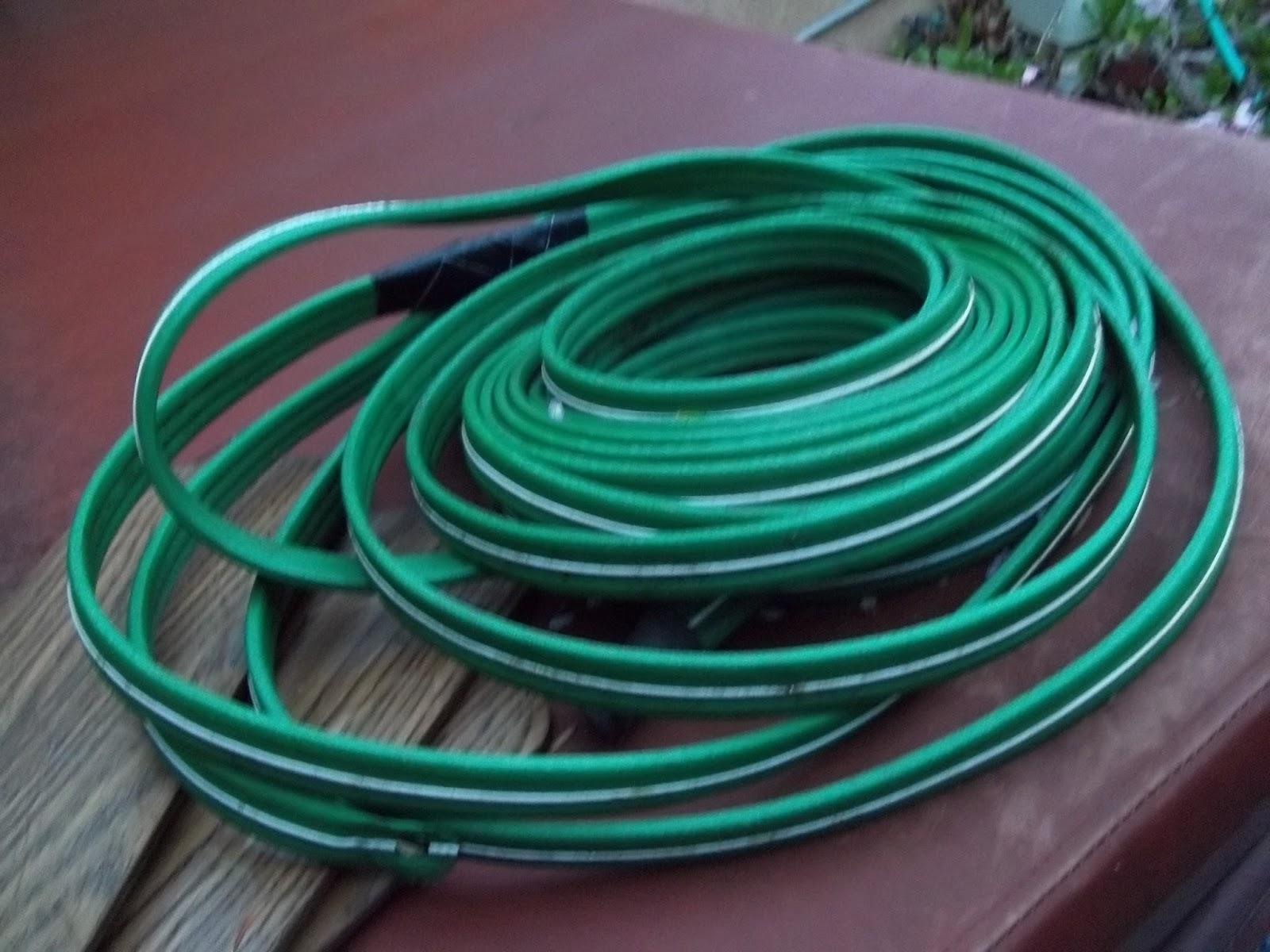 Dragonfly Treasure: Garden Hose Recycle