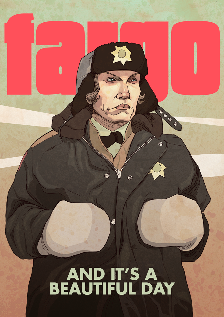 Coen Brothers Fargo movie artwork