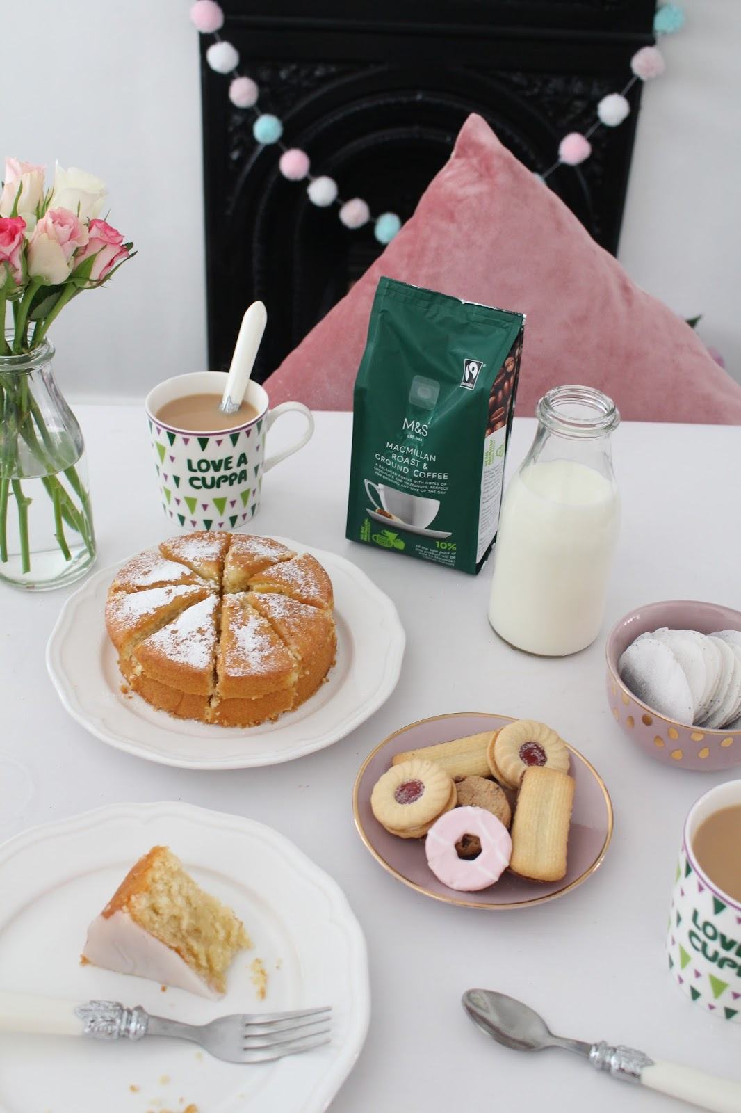 UK Blogger, Liverpool Blogger, Charity, Marks and Spencer, Macmillan Coffee Morning,