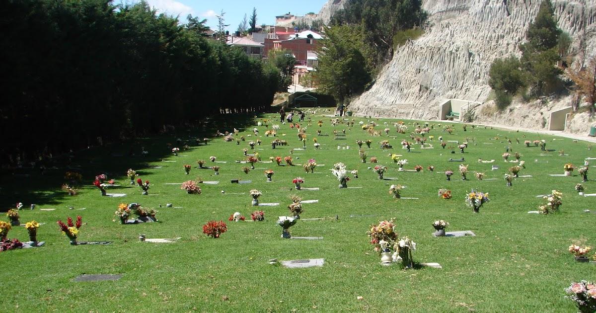 Venta inmobiliaria terrenos en el cementerio de la paz for Cementerio jardin la paz bolivia