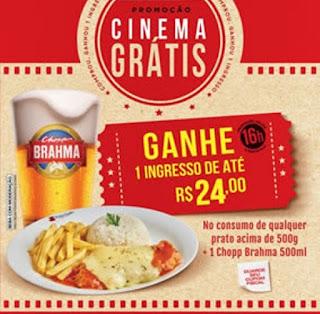 Promoção Cinema Grátis Divino Fogão