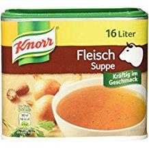 Knorr Fleisch Suppe Dose, 3er-Pack (3 x 16 Liter)