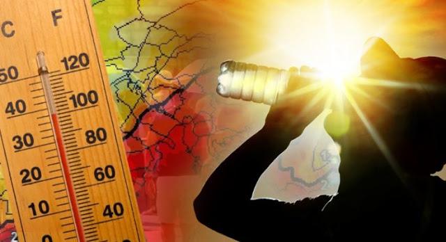 Σήμερα η πιο ζεστή μέρα του μήνα με 40άρια και άπνοια (πρόγνωση για όλη την εβδομάδα)