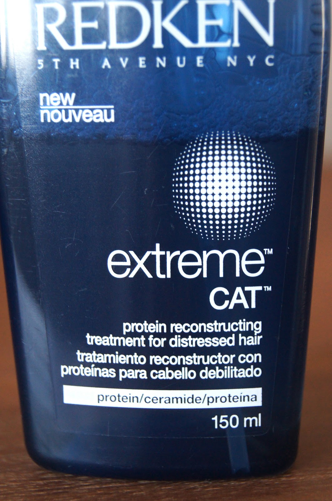 redken extreme cat protein reconstructing hair treatment review
