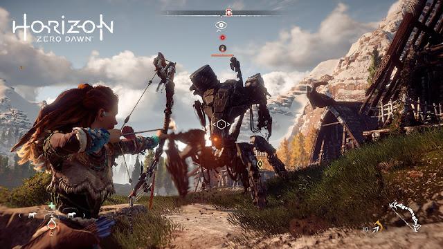Horizon Zero Dawn irá a 4K reescalado en PS4 Pro