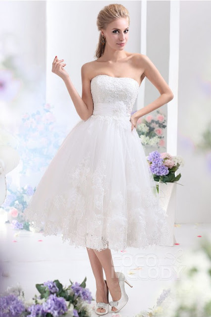 Beautiful Beach Wedding Dresses At CocoMelody