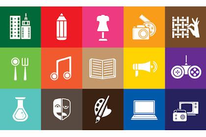 Pengertian, Ciri-ciri dan Sektor Ekonomi atau Industri Kreatif