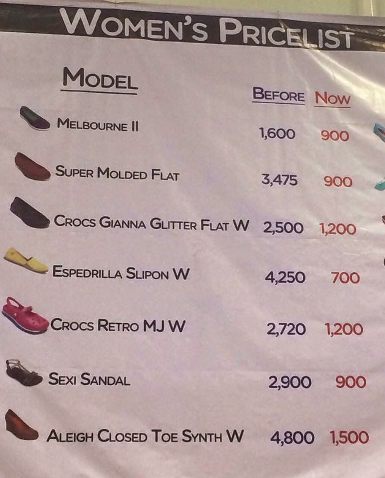 Shopping At Crocs Mega Sale 2015 Rochelle Rivera