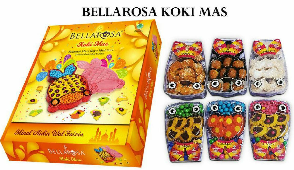 Paket Lebaran Bellarosa Kue Sirup Twin