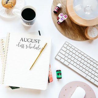 August Essential Oil Classes | An Oily FREE.K Community