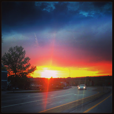 Sunset on the Maine/New Hampshire Border, Memorial Day Weekend 2016