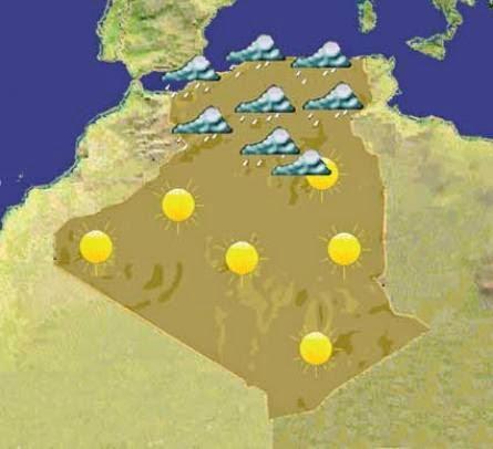 الاحوال الجوية في الجزائر