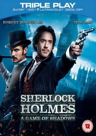 Sherlock Holmes A Game Of Shadows 2011 BRRip 400Mb Hindi Dual Audio 480p Watch Online Full Movie Download bolly4u