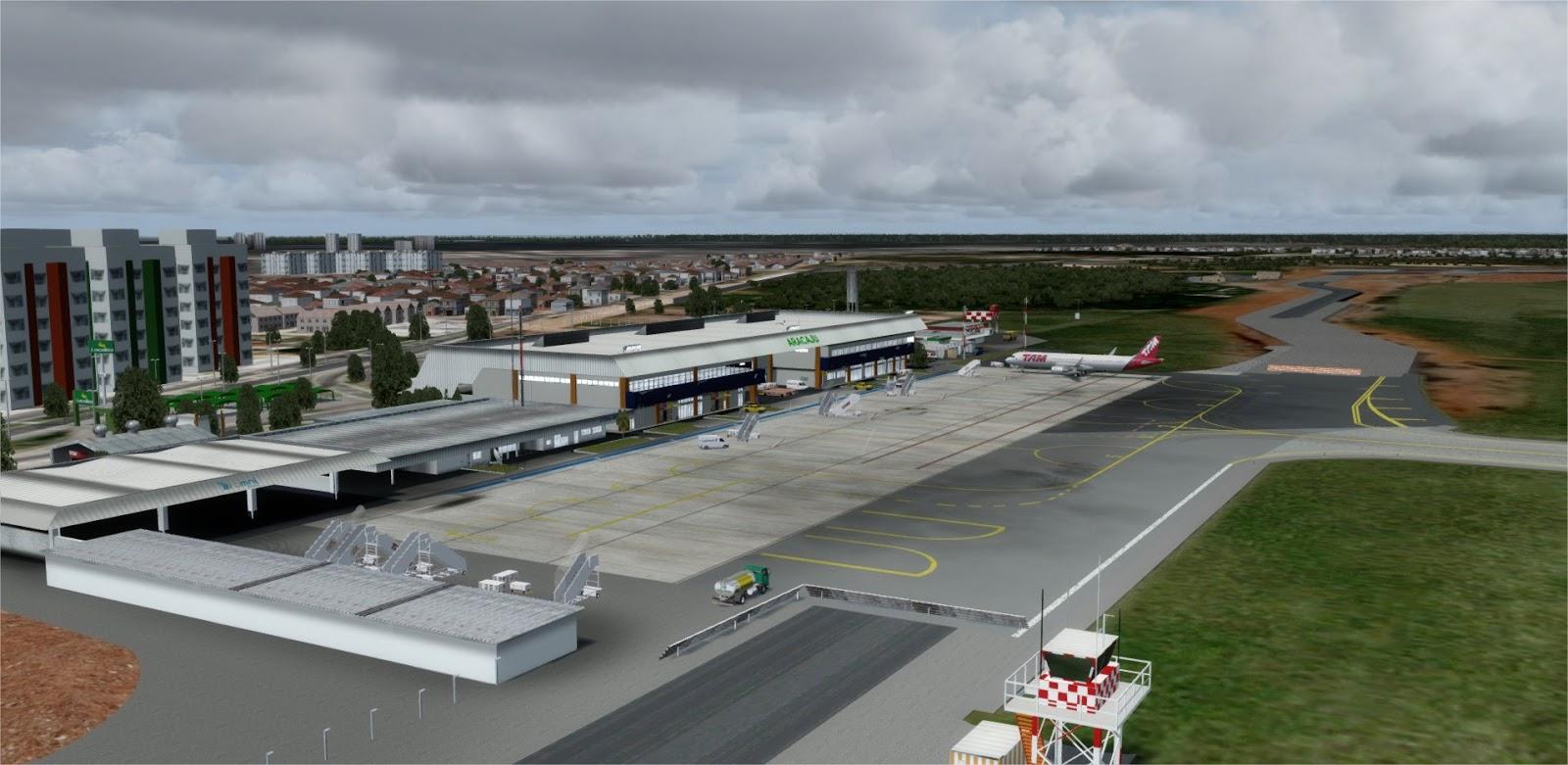 [Loja] SBARX2017 - Aeroporto de Aracaju FSX, Prepar3D vs 3, 4