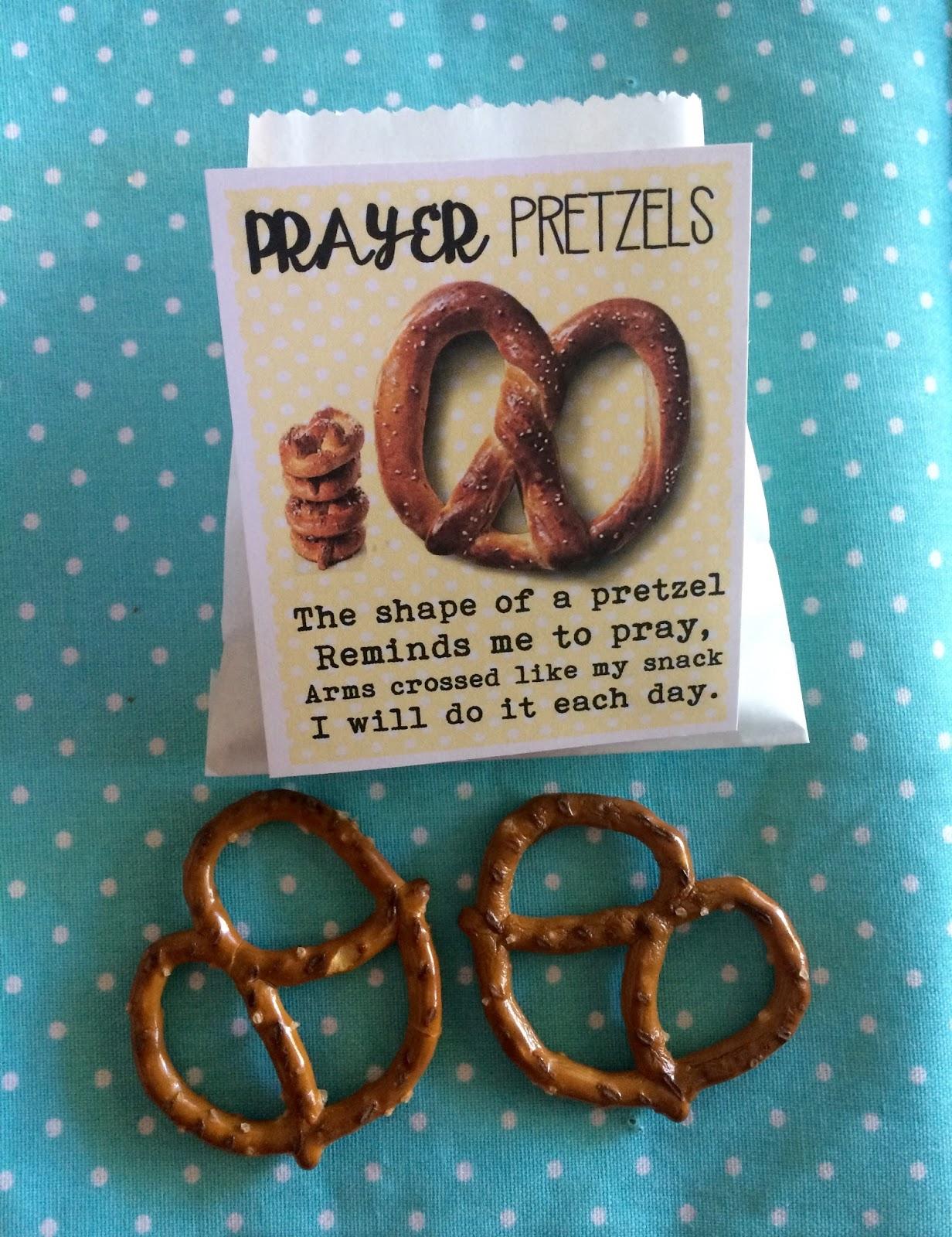Marci Coombs Prayer Pretzels Handout