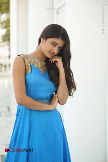 Telugu Actress Akshita (Pallavi Naidu) Latest Stills in Blue Long Dress at Inkenti Nuvve Cheppu Movie Promotions  0038.jpg