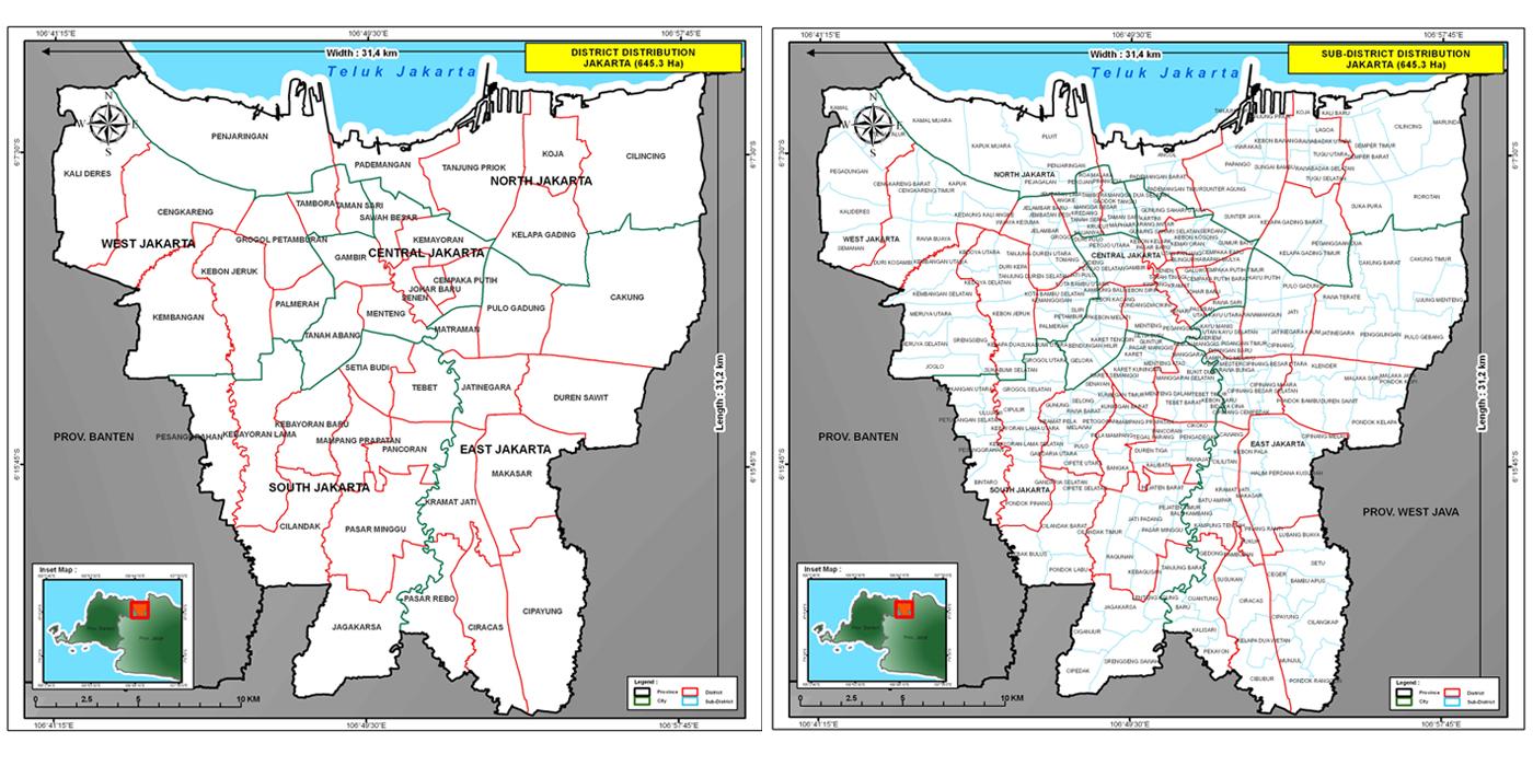 Dapur Peta: Administrasi DKI Jakarta