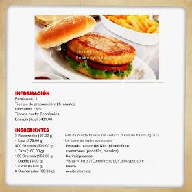 recetas de hamburguesas saludables para niños