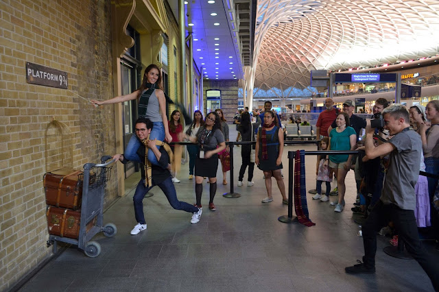 King's Cross Station, Londres