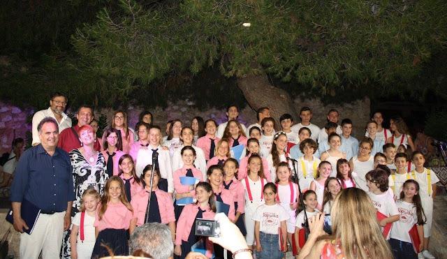 """Με αισιόδοξο μήνυμα το φεστιβάλ παιδικών χορωδιών που διοργάνωσε για πρώτη φορά """"Ο Καββαδίας"""""""