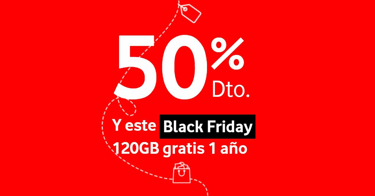 Vodafone Black Friday 2018 120 GB