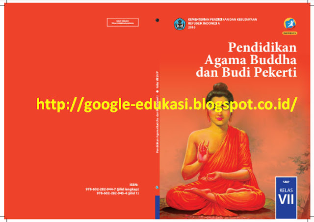 Buku PAI, Kristen, Katholik, Budha, Hindu, Konghuchu Kelas 7 Kurikulum 2013 Edisi Revisi 2016