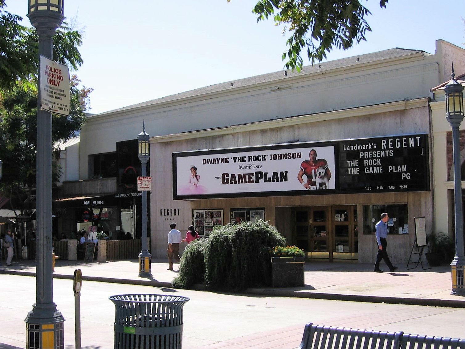 Los Angeles Theatres Regent Landmark Westwood Theatre