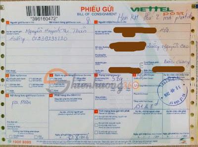 Phí gửi 13 hộp màu acrylic 300ml ra Bắc Giang là 151.000 đ
