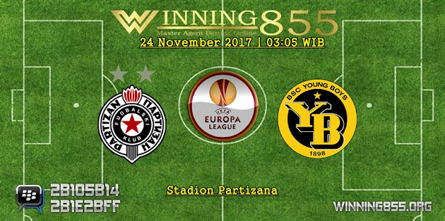 Prediksi Akurat Partizan vs Young Boys 24 November 2017
