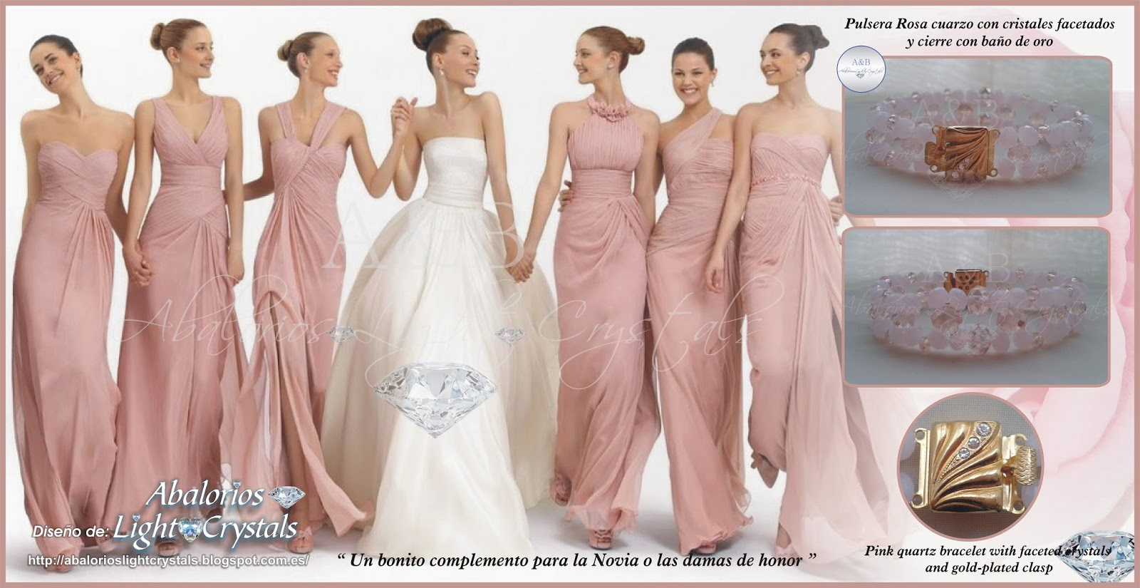 Vistoso Vestidos De Las Damas De Honor De Oro Festooning - Ideas de ...