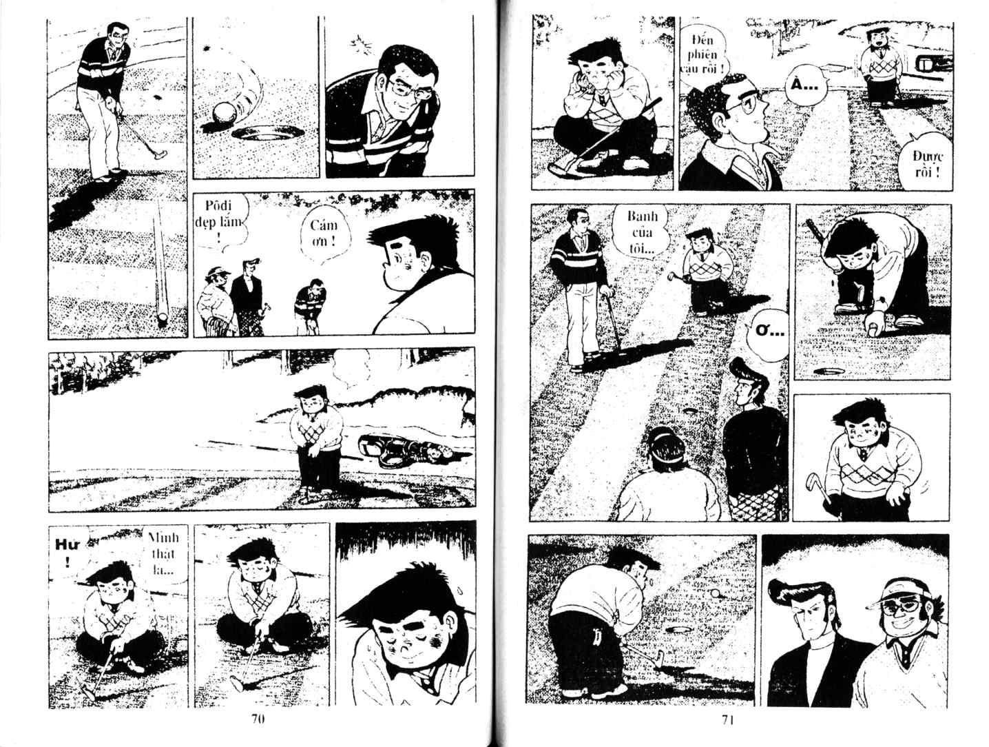 Ashita Tenki ni Naare chapter 12 trang 34
