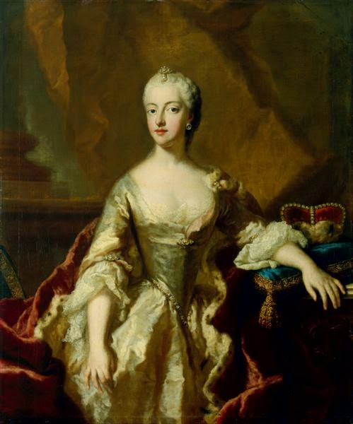 Duchess Maria Anna Josepha of Bavaria by Georg Desmarées, 1750